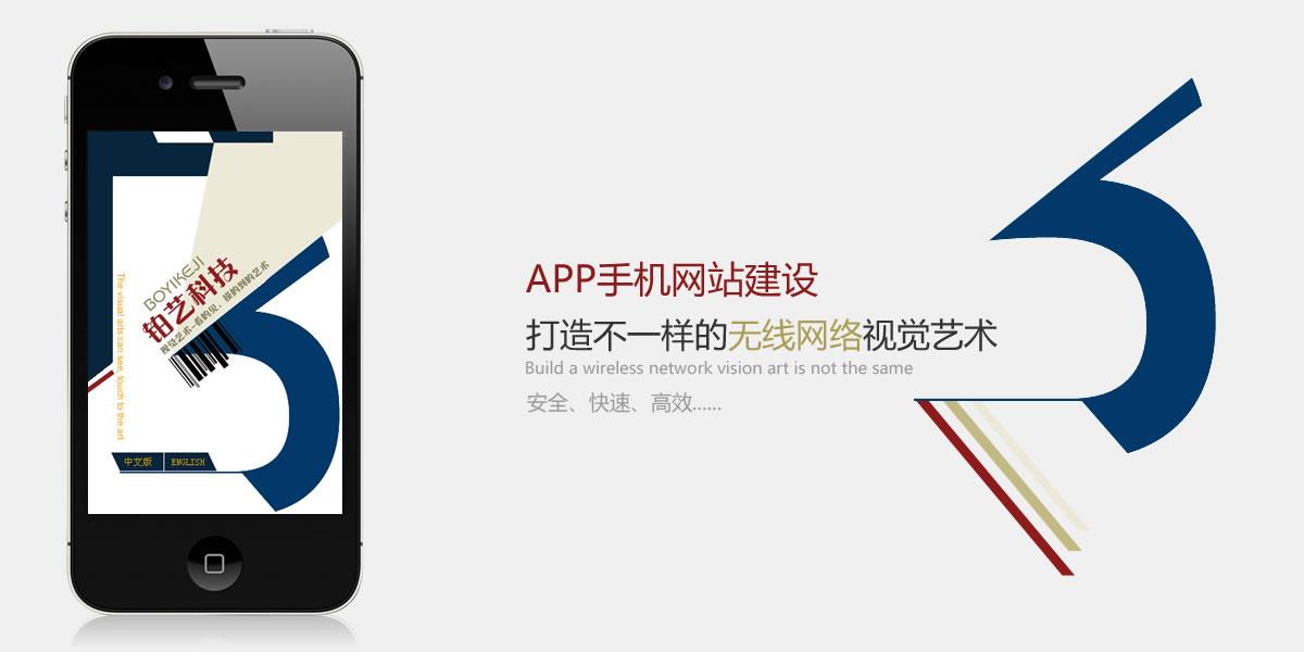APP手机网站建设
