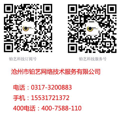 沧州网站推广